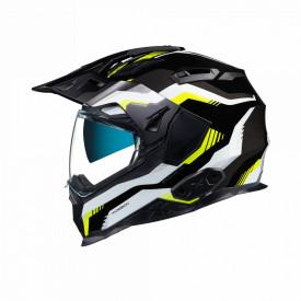 Casca moto Adventure X.Wed2 Columbus Grey / Neon / Black
