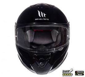 Casca moto MT Thunder III SV negru lucios