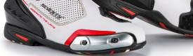 Cizme moto Racing Unisex Seventy Degrees SD-BR1 alb/rosu