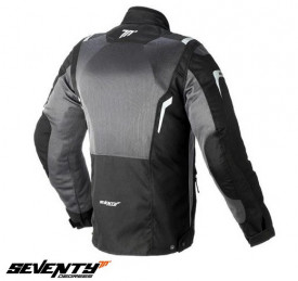Geaca (jacheta) motociclete barbati Touring Seventy vara model SD-JT44 culoare: negru/gri