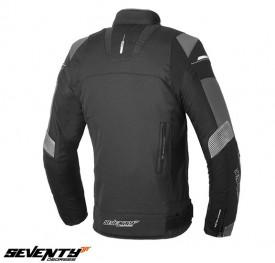 Geaca moto barbati Racing Seventy vara/iarna model SD-JR69 culoare: negru/gri