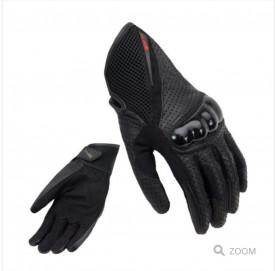 Manusi motociclete barbati piele Unik Racing model C-42 culoare: negru