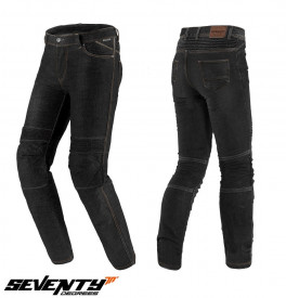 Blugi (jeans) moto femei Seventy model SD-PJ8 tip Slim fit (cu insertii Aramid Kevlar)
