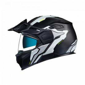 Casca moto Adventure Nexx X.Vilijord Light Nomad White MT