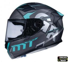 Casca moto MT KRE Snake Carbon Gabri A8 negru/gri mat – 100% carbon – editie limitata