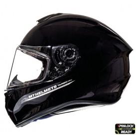 Casca moto MT TARGO Solid negru lucios