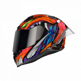 Casca moto NEXX X.R3R X.Matrix Zorga Orange