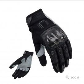 Manusi motociclete cross-enduro unisex Unik Racing model X-4 carbon culoare: negru