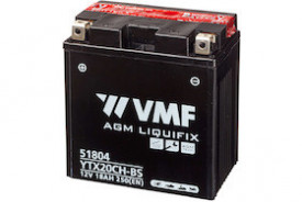Baterie moto AGM VMF Powersport YTX20CH-BS , capacitate 12V | 18Ah .