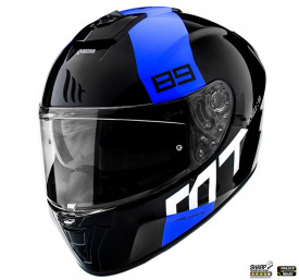 Casca integrala MT Blade 2 SV 89 B7 albastru lucios