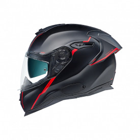 Casca moto Nexx SX.100R Shortcut Black/Red