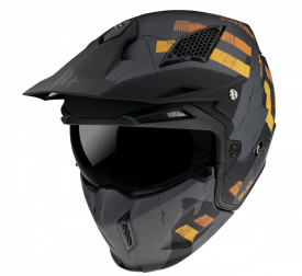 Casca MT Streetfighter SV Skull2020 A12 gri mat