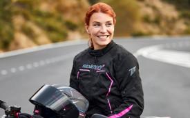 Geaca (jacheta) femei Racing Seventy vara/iarna model SD-JR67 culoare: negru/roz