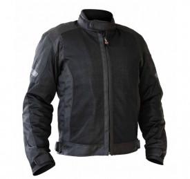 Geaca (jacheta) motociclete barbati Touring Unik Racing model VZ-06 culoare: negru