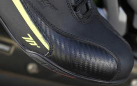 Ghete moto Urban Unisex Seventy model SD-BC6 culoare: negru/galben fluor