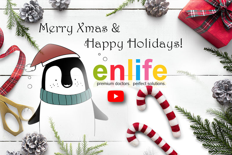ENLIFE SOLUTIONS Xmas Card