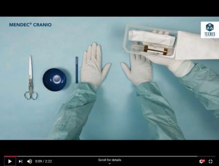 Ciment acrilic cranioplastie ( pentru completare defecte craniene)