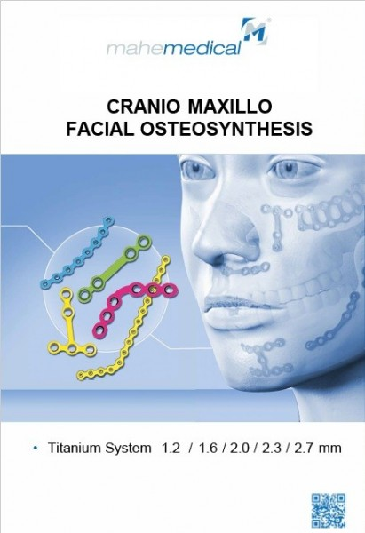 Mesa cranioplastie Titanium 12/12 cm (Sistem 1.6 mm) pentru defecte craniene.