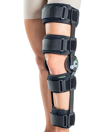 Orteză de genunchi mobilă, cu articulaţii reglabile COOL ROM, Ref: 120023-1