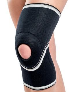 Orteză de genunchi mobilă cu suport patelar
