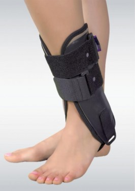 Poze ORTEZA DE GLEZNA MOBILA, CU ATELE LATERALE DE PLASTIC(Mobile Ankle Orthosis with lateral plastic support )