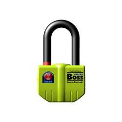 BIG BOSS ALARM DISC LOCK (16MM) - YELLOW