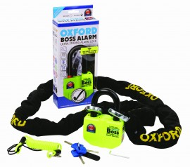 BOSS ALARM DISC LOCK (14MM) - YELLOW