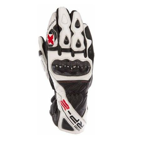 MANUSI RP-2 SUMMER GLOVES WHITE/BLACK XL