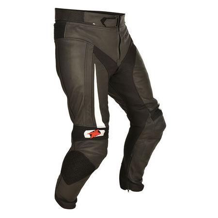 PANTALONI PIELE PANTS TECH BLACK XL/38