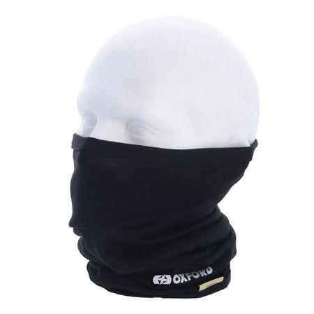 PROTECTIE GAT (NECK TUBE ) - DELUXE MERINO - NEGRU
