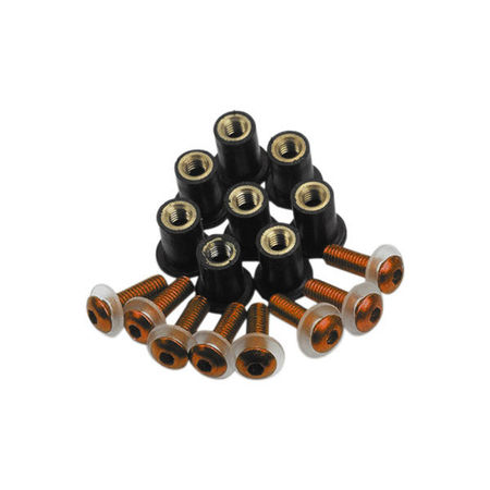 SCREEN SCREWS - NEGRU (OX-OF981)