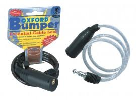 BUMPER CABLE LOCK 600mm X 6mm - SMOKE