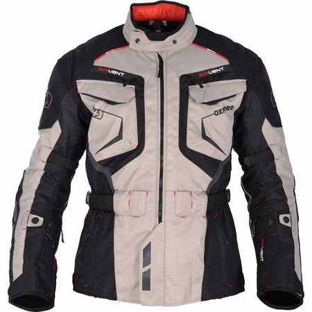 GEACA MOTO ANKARA MEN LONG JACKET GREY/BLACK S/38