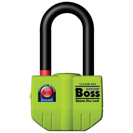 BOSS ALARM DISC LOCK (14MM) - YELLOW