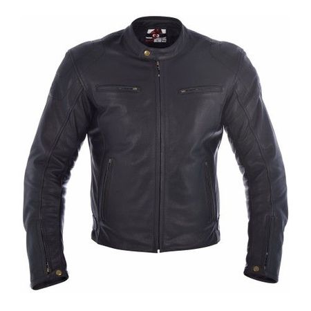 GEACA MOTO BUDDY MEN LEATH JACKET BLACK L/42