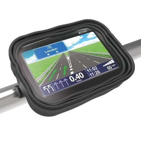 Suport telefon / navigatie STRAP - NAV SAT / NAV HOLDER - NEGRU (OX-OL900)