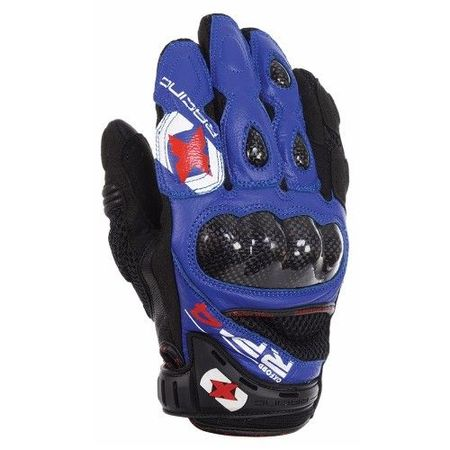 MANUSI RP-4 SUMMER SHORT GLOVES BLUE/BLACK M