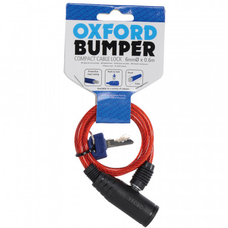 OXFORD - Bumper Cable lock 600mm x 6mm