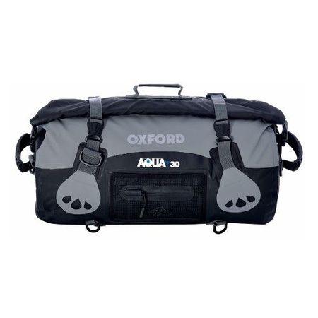 AQUA T-30 ROLL BAG - NEGRU/GREY (OX-OL990)