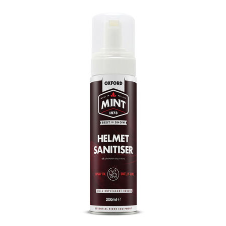 OXFORD MINT - HELMET SANITISER FOAM (interior) - 200ml
