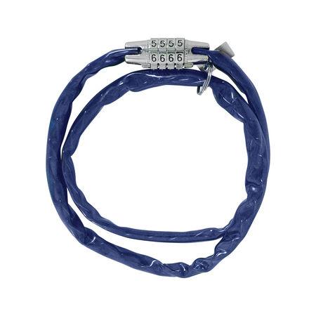COMBI CHAIN COMBINATION LOCK 36' - BLUE