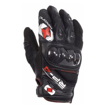 MANUSI RP-4 SUMMER SHORT GLOVES TECHBLACK 4XL