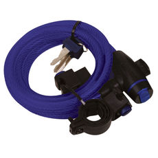 CABLE LOCK 1.8M X 12mm - BLUE