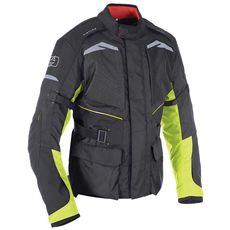 QUEBEC MEN JACKET NEGRU/ FLUO 2XL