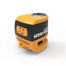 SCOOT XA5 ALARM DISC LOCK (5.5mm PIN) ORANGE/NEGRU -
