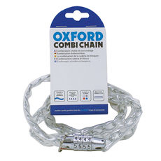 COMBI CHAIN COMBINATION LOCK 36' - CLEAR