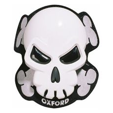 SKULL KNEE SLIDERS ALB (OX-OF260)