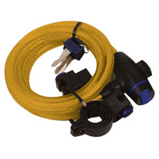 CABLE LOCK 1.8M X 12mm - GOLD