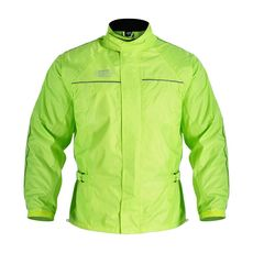 RAINSEAL OVER JACKET L - YELLOW FLUO