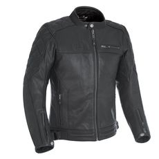 ROUTE 73 LEATH MEN JACKET BLK S/38